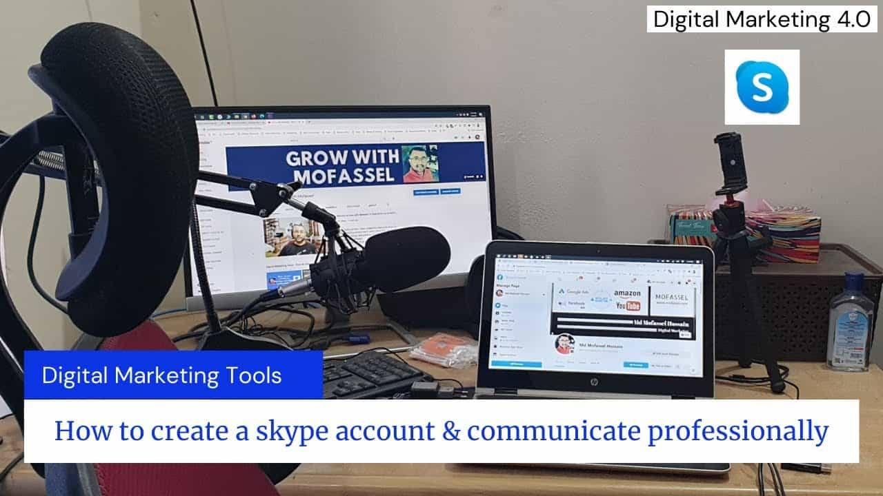 How to create a skype account & communicate professionally