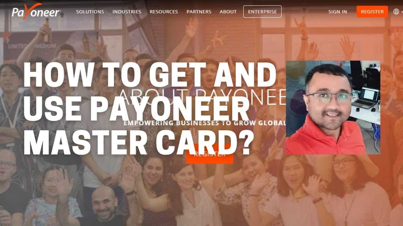 How to get and use payoneer master card