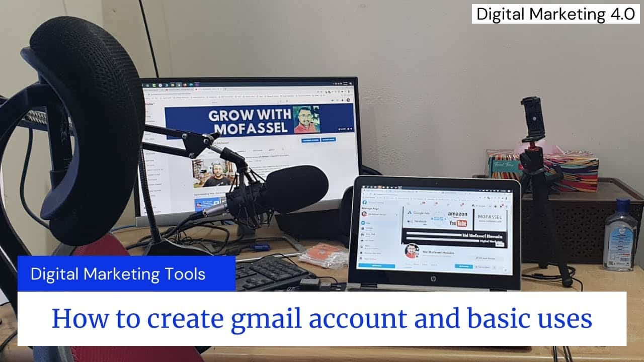 How to create gmail account and basic uses
